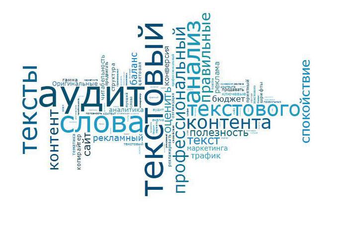 Текстовый аудит, проверка и анализ контента