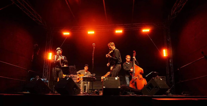 Swing-Band, Gipsy-Jazz, Altonale 2018, 20-er Jahre Band, Django Reinhardt