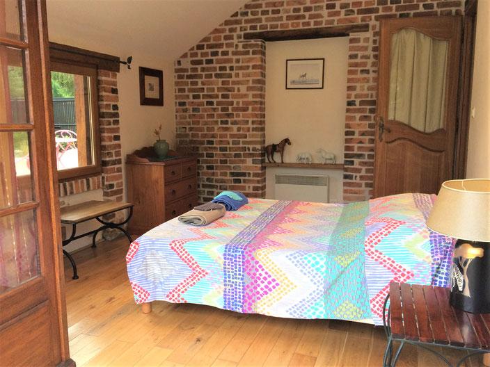 3 ème chambre avec vue sur le jardin