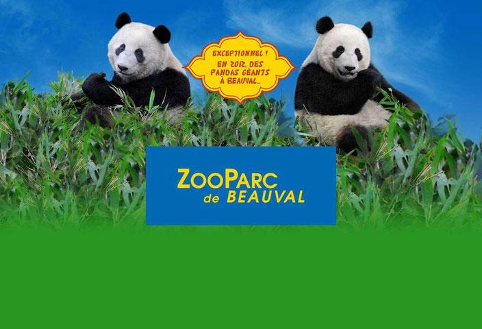 ZOO parc de Beauval à Saint Aignan
