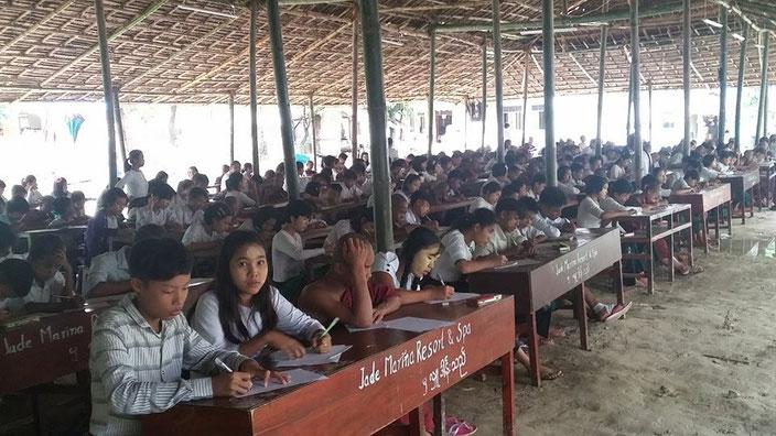 リンクトゥミャンマー支援のラカイン州孤児院