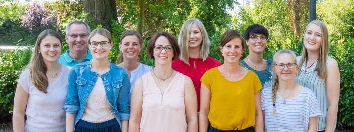 Das freundliche und motivierte Team der Prophylaxepraxis Ahaus steht für Sie bereit!