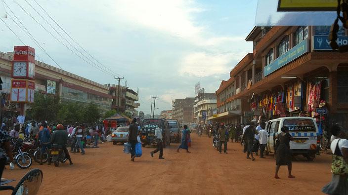 Kampala Zentrum