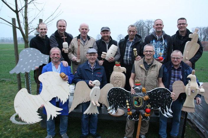 Delbrücks Vogelbauer bereiten sich auf neue Schützenfestsaison vor.