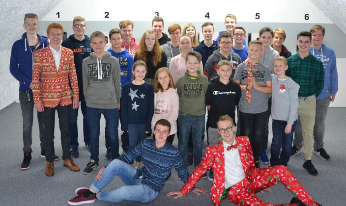 Schülerschützen 2019 St. Heinrich Sudhagen