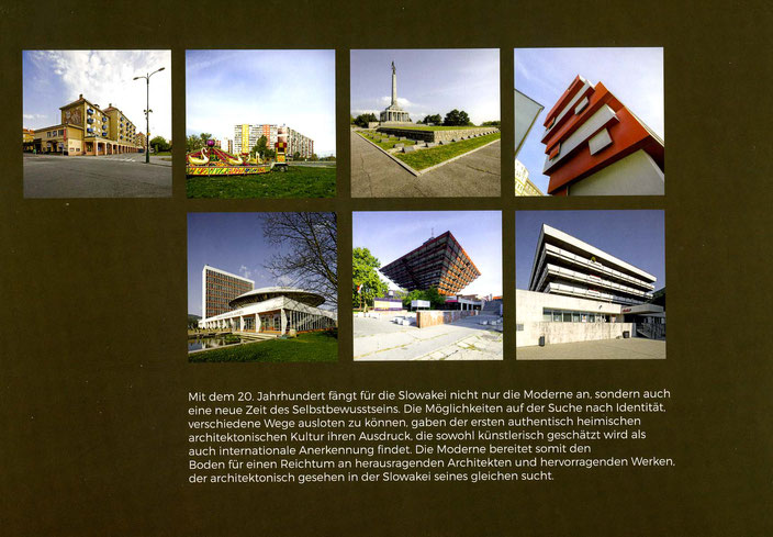 BOOK ABOUT SLOVAK ARCHITECTURE