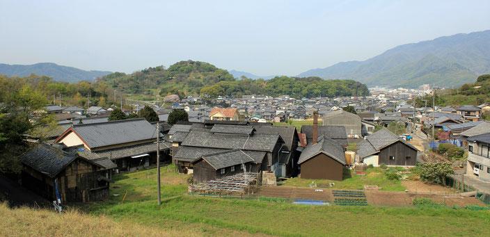小豆島・「馬木(うまき) 醤の郷」全景