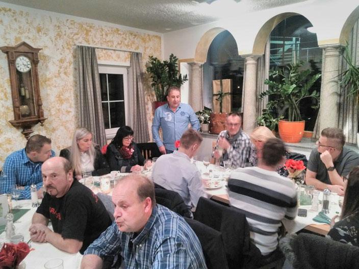 1. Dezember 2017 - Weihnachtsfeier, Kohlstatt