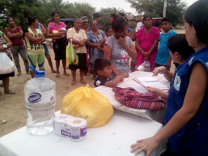 Soforthilfe in Peru