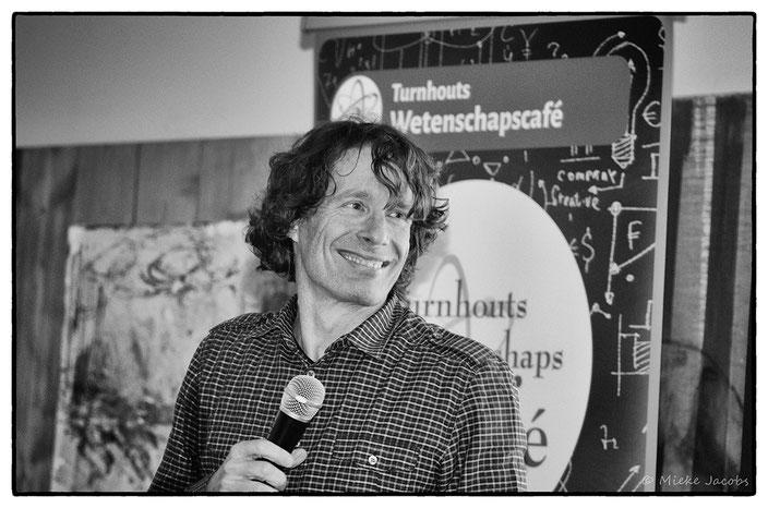 Turnhouts Wetenschapscafé Dirk Draulans