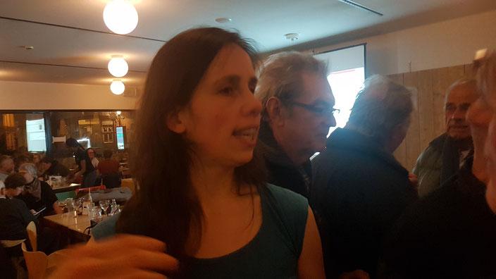 Sara Vicca op 13 januari 2020 over 'Ecosystemen onder druk van het klimaat'.