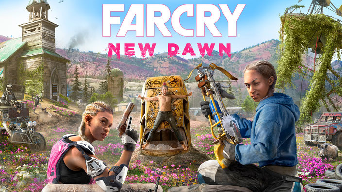 Far Cry New Dawn, Hope County, Ubisoft, Montana, Endzeit, Mickey, Lou, Highwaymen, Atom, Die Zwillinge, Timber, Hurk, Horatio, Nana, Joseph, Jerome, Judge, Carmina, Gina, Ethanol, Expiditionen, Expidition, New Eden