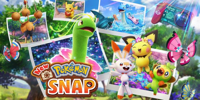 Titelbild von New Pokémon Snap für die Nintendo Switch