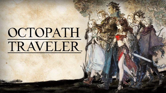 Octopath Traveler, Square Enix, Nintendo, Switch, JRPG, Bravely Default, HD-2D, Therion, Olberic, Primrose, Acquire Corp., Alfyn, Cyrus, H'aanit, Tressa, Ophilia, Pfadaktion, Unreal Engine 4, Orsterra, Boost, rundenbasiert,