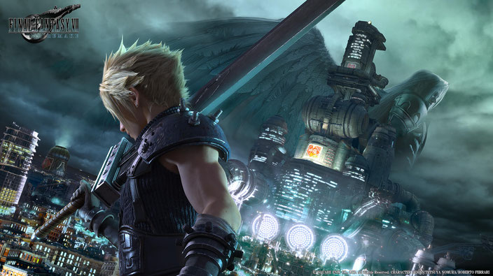 Final Fantasy 7, Remake, VII, Midgar, Square Enix, Cloud Strife, Tifa, Barret, Aerith, Sephiroth, Red, Shiva, Ifrit, Materia, Mako, Shinra, Heidegger, Seventh Heaven, Marlene, Ancient, Wall Market, ATB, Limit, RPG, Buster Sword, SOLDIER, PS1, PS4