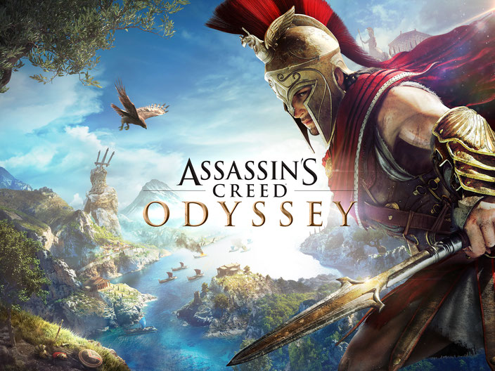 Assassin's Creed, Odyssey, Assassins Creed, Kassandra, Alexios, Griechenland, Pythagoras, Kosmos, Kult, Ubisoft, Phobos, RPG, Sparta, Leonidas, Kephallonia, Zeus, Poseidon, Minotaurus, Medusa, Schiff, Meer, Speer, Attika, Athen, Perikles