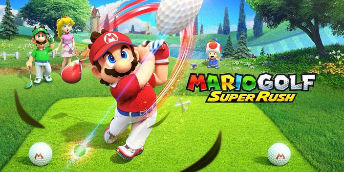 Titelbild von Mario Golf: Super Rush von Nintendo für die Nintendo Switch