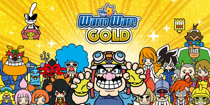 WarioWare Gold, Wario, Lulu, Minispiele, Gyro, Knöpfe, Touch, 3DS, Nintendo, Microgames, Luxeville, Jimmy T, Mona, Dribble, Spitz, Dr. Crygor, Kat, Ana, Volt, Orbulon, Souvenir