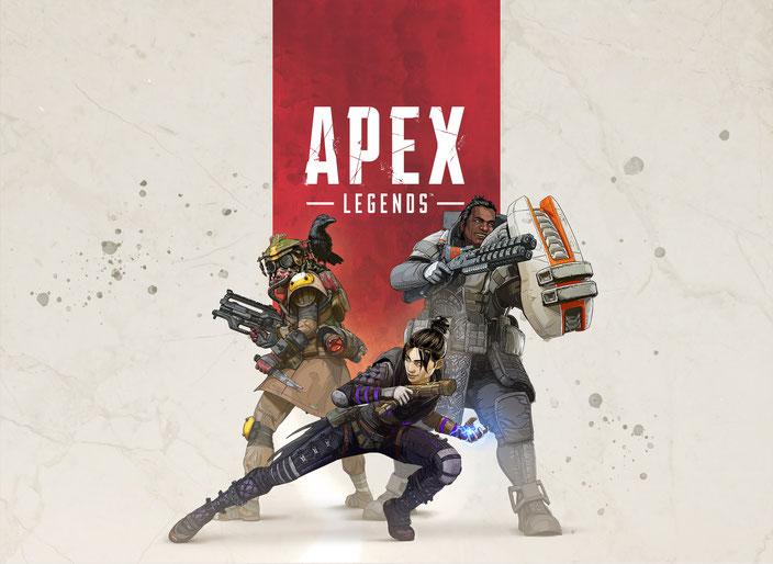 Apex Legends, Titanfall, Respawn Entertainment, Electronic Arts, EA, Battle Royale, Lifeline, Wraith, Mirage, Bloodhound, Bangalore, Caustic, Gibraltar, Pathfinder, Legenden, Free to Play, Squad, Zipline, IMC, Miliz, Loot, Ping, FPS, Ego-Shooter