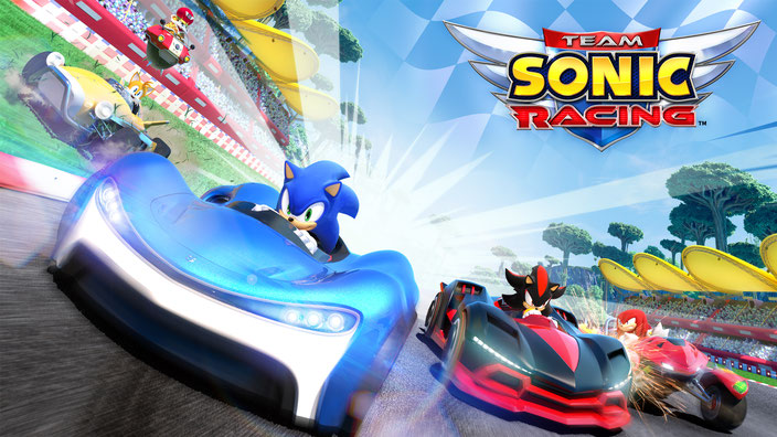 Team Sonic Racing, Sonic, Hedgehog, Sega, Shadow, Tails, Knuckles, Mario Kart, Eggman, Silver, Big, Vector, Amy, Metal Sonic, Sumo Digital, Dodon Pa, Donpa Kingdom, Zavok, Blaze, Chao, Omega, Rouge,