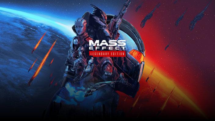 Artwork der Mass Effect Legendary Edition von Bioware