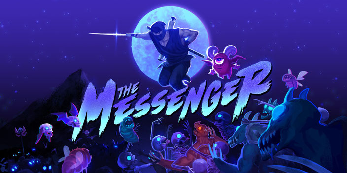 The Messenger, Demons, Prophet, Retro, 8 Bit, 16 Bit, 8-Bit, 16-Bit, Devolver Digital, Sabotage Studio, Ninja, Necromancer, Metroidvania, Quarble, Shop, Rainbowdragoneyes, Chiptune