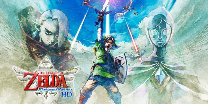 Das Titelbild zu The Legend of Zelda: Skyward Sword HD von Nintendo für die Nintendo Switch