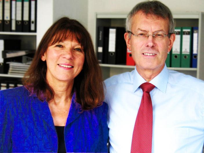 Rechtsanwalt Klein und Rechtsanwältin Jürcke