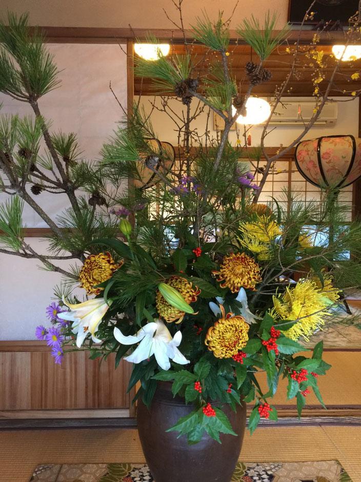 謹賀新年01-本法寺-東京都文京区のお墓 永代供養墓 法要-
