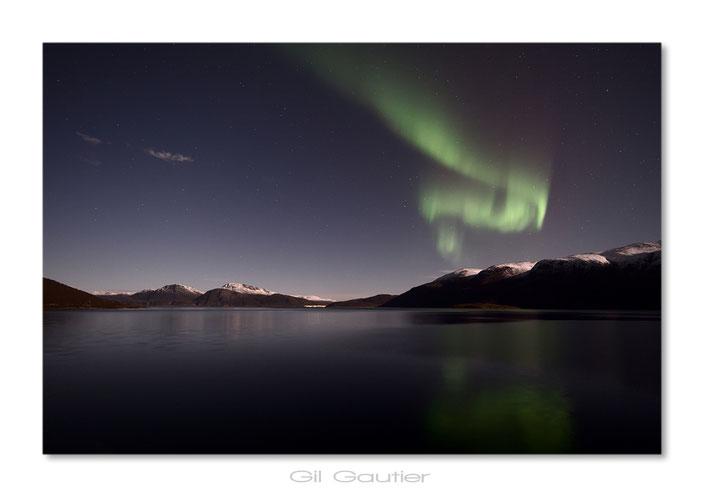 Aurore du soir ( Fjordvegen , Kvaløysletta )