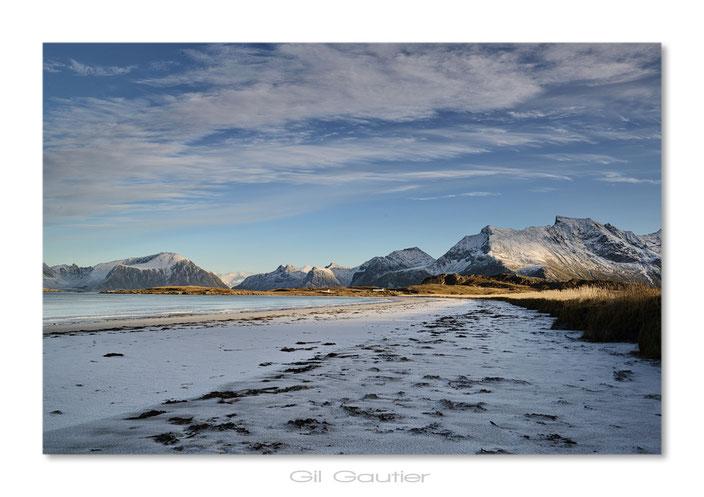"""La plage de neige. ( Quelques prises de vue vidéo , pour la suite de mon projet """" Sous mes pas , des images """""""