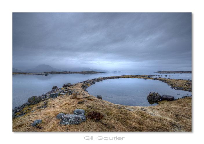 """Gisløya isl .. entre deux averses ( J'ai nommé cet endroit """" La baignoire de Thor """"  )"""