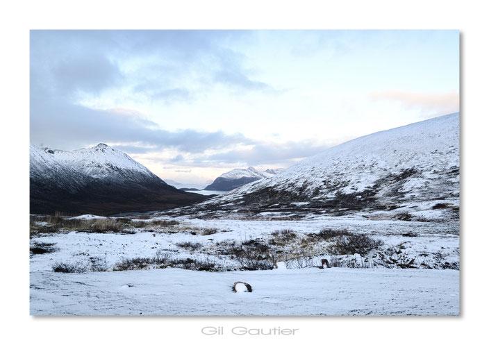 Première neige ( Piste entre Tromvik et Rekvik )