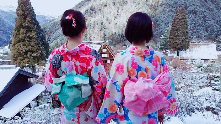 下呂温泉クリスマス写真スポット