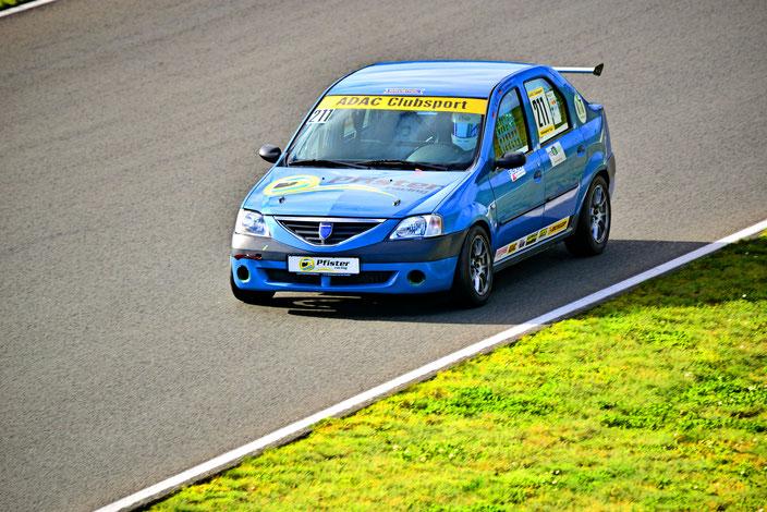 ADAC Dacia Logan Cup Lucian Aron Pfister Racing #211 Motorsportarena Oschersleben