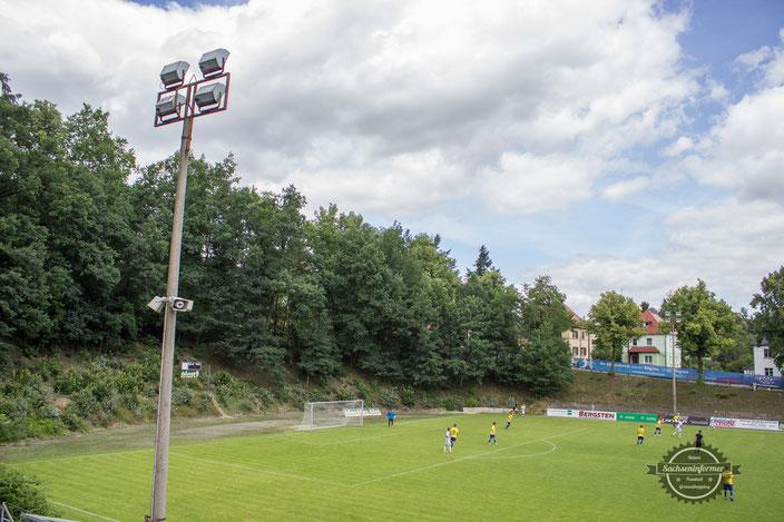 Bischofswerdaer FV 08 - Holzwaren Siemundt Kampfbahn