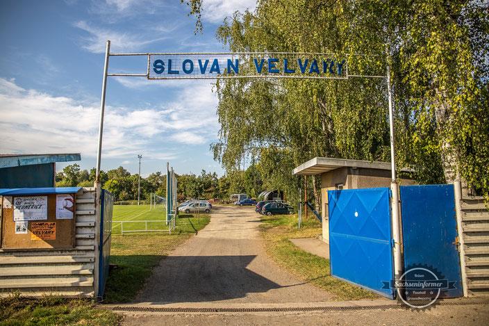 TJ Slovan Velvary - Stadion Slovan Velvary