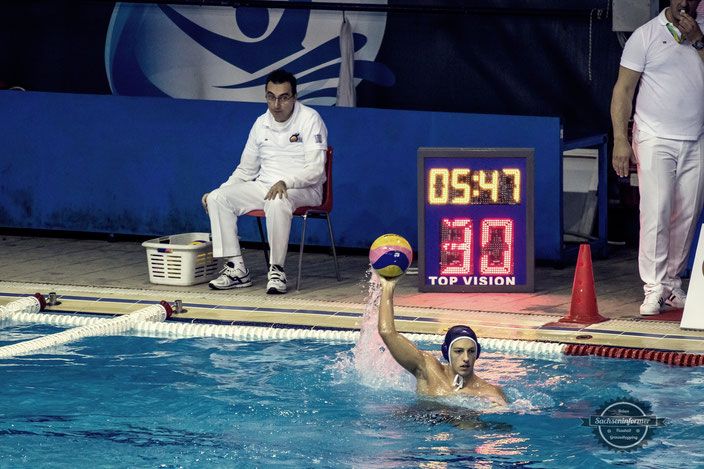 Olympiacos Water Polo Club - Papastratio Schwimmhalle Piräus