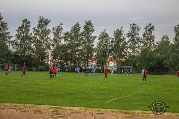 Chemnitzer FC - Stadion der Bauarbeiter Krumhermersdorf