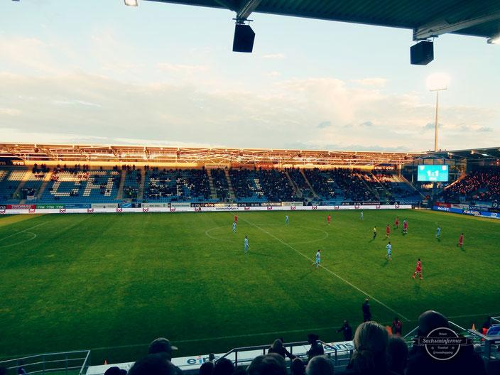 Chemnitzer FC - Stadion an der Gellerstraße