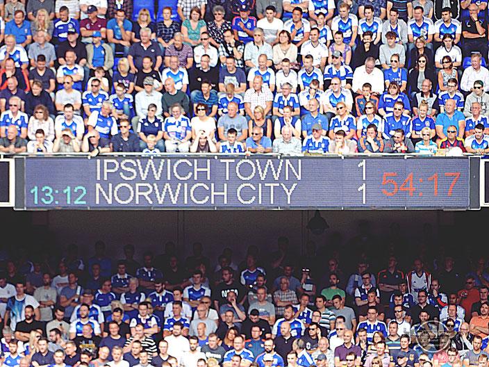 Ipswich Town FC - Portman Road Stadium