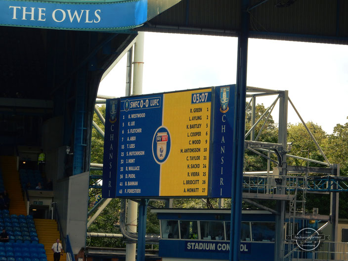 Sheffield Wednesday FC - Hillsborough Stadium