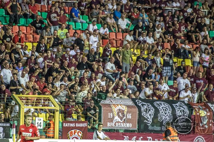 BFC Dynamo vs. FC Energie Cottbus - Friedrich-Ludwig-Jahn-Stadion