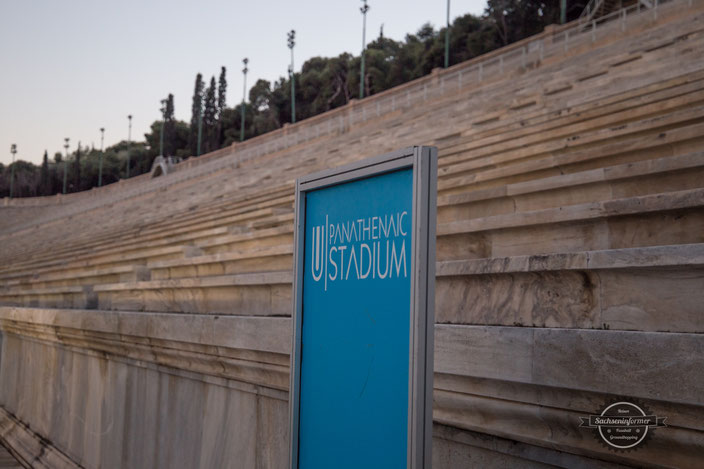 Sightseeing - Panathenaic Stadion, Athen