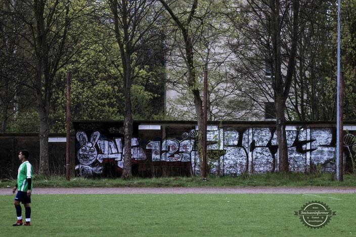 SpVgg Blau-Weiß Chemnitz - Stadion Clausstraße