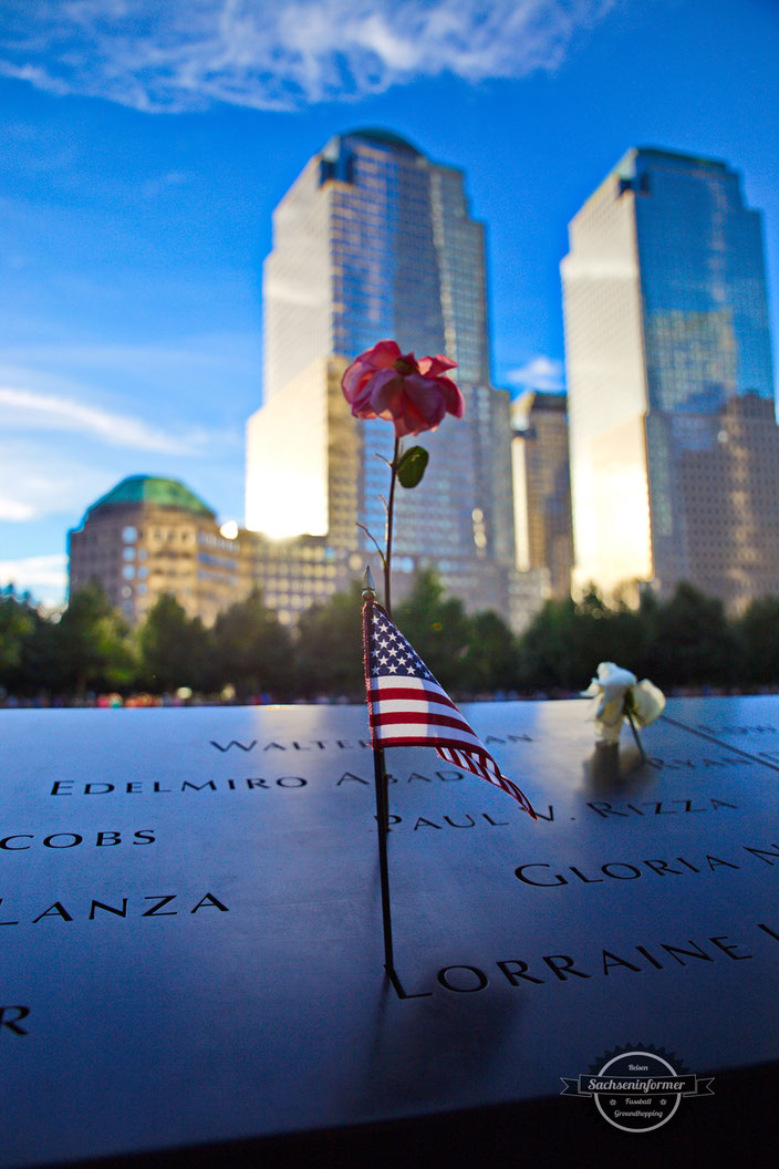 World Trade Center Memorial - Ground Zero - New York Ciy
