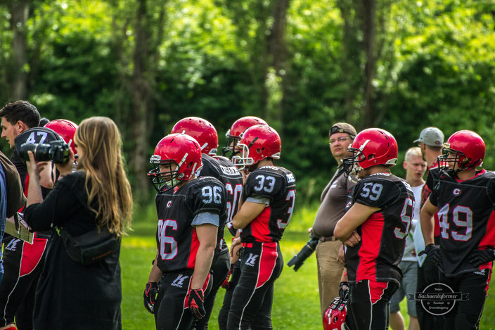 Chemnitz Crusaders - Football - Usti Field