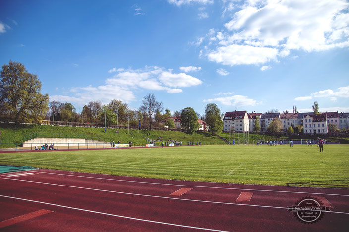 SV Barkas Frankenberg - Aufstieg - Jahnkampfbahn
