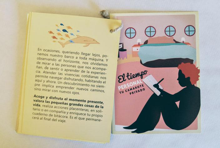 Cartas 'Tu tiempo personal, guí para un viaje', con Amantara S.Coop.Mad y Freepress S.Coop.Mad (2014)
