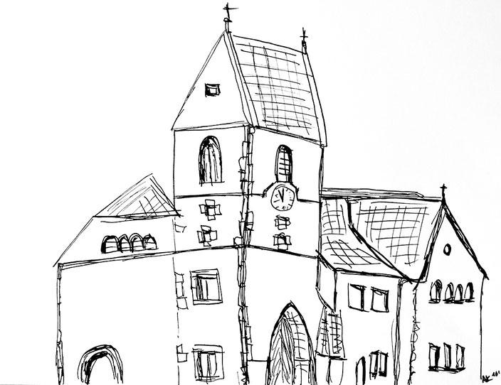 kirche Mauritiuskirche Reichenbach fils